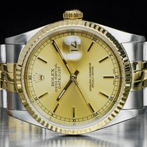 Rolex 16233 Gold/Steel 1996 Datejust 36mm pre-owned