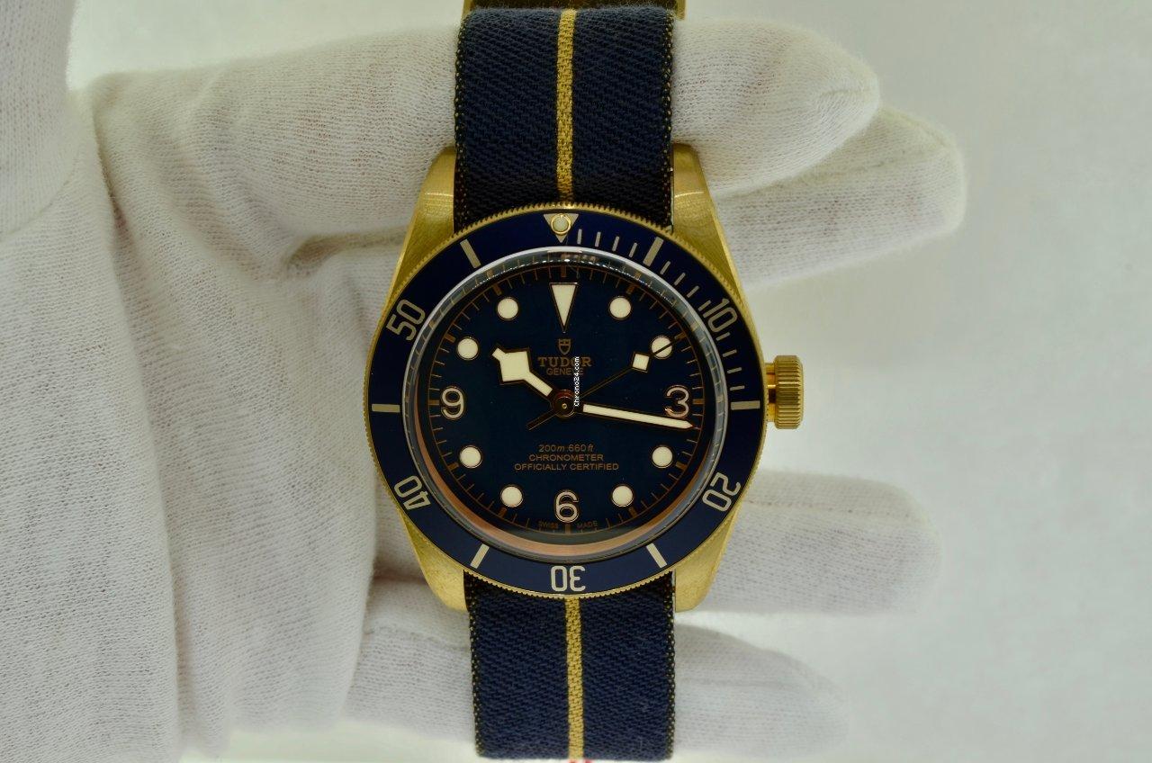 Tudor Black Bay Bronze 79250BB Bucherer 2021 new