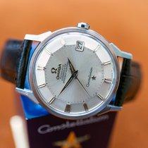 Omega Constellation Stahl 34mm Silber Keine Ziffern