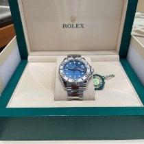 Rolex Platinum Automatic Blue No numerals 40mm new Yacht-Master 40
