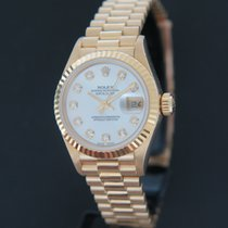 Rolex Lady-Datejust Geelgoud 26mm Parelmoer Nederland, Maastricht