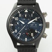 IWC Pilot Chronograph Top Gun Керамика 44.5mm Черный