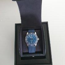 Breitling Superocean Heritage II 46 подержанные 46mm Синий Хронограф Дата Пластик