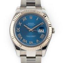 劳力士Datejust II钢41mm蓝色罗马数字美利坚合众国,佛罗里达,好莱坞