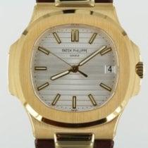 Patek Philippe Nautilus Yellow gold 40mm White No numerals