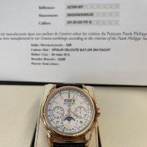 Patek Philippe Açık kırmızı altın 41mm Manuel kurmalı 5270R-001 ikinci el Türkiye, İstanbul