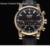 Eberhard & Co. Red gold Automatic Black 43mm pre-owned Chrono 4