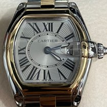 Cartier Roadster Gold/Steel 31mm Silver Roman numerals Singapore, Singapore