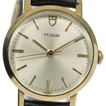 Tudor (チューダー) イエローゴールド 手巻き シルバー 25mm 中古
