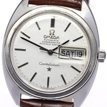 Omega Constellation Day-Date 35mm Zilver