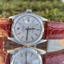 Rolex Datejust Gold/Steel 36mm Silver No numerals United States of America, Virginia, Manassas