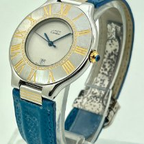 Cartier 21 Must de Cartier Gold/Steel 28mm White United States of America, Florida, Miami