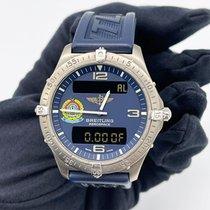 Breitling Aerospace Titanio 40mm Azul