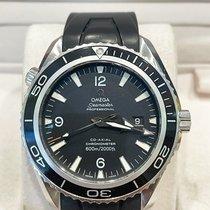 Omega Seamaster Planet Ocean Steel 45.5mm Black Arabic numerals