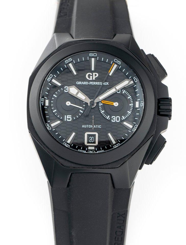 Girard Perregaux Chrono Hawk 49970-32-631-FK6A pre-owned
