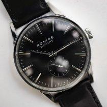 NOMOS Zürich pre-owned Black Leather