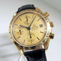 Omega Gelbgold Gold 38mm gebraucht Speedmaster Reduced