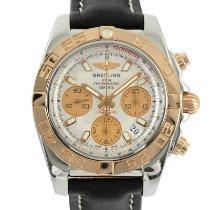 Breitling Chronomat 41 Goud/Staal 41mm Zilver