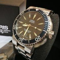Oris TT1 Acier 43mm Noir Sans chiffres
