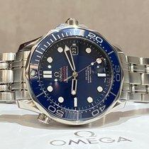 Omega Seamaster Diver 300 M Steel 41mm Blue No numerals UAE, 74777