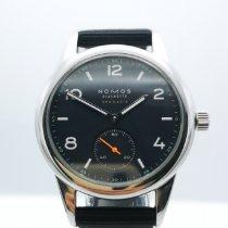 NOMOS Club Neomatik Steel 37mm Black Arabic numerals