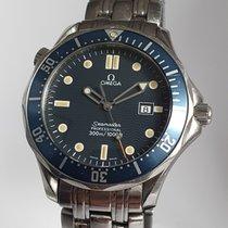 Omega Seamaster Diver 300 M Steel 41mm Blue No numerals