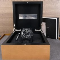 Panerai Luminor 1950 10 Days GMT Cerámica 44mm Negro Arábigos