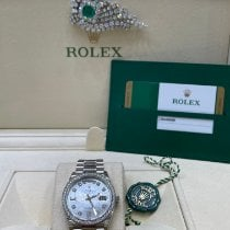 Rolex 128349RBR Or blanc 2020 Day-Date 36 36mm occasion