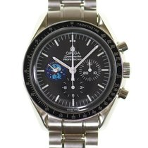 欧米茄Speedmaster专业月球手表钢42mm黑色美国,德克萨斯,休斯顿