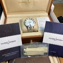 Ulysse Nardin pre-owned Automatic 40mm White Sapphire crystal 10 ATM