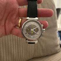 Louis Vuitton Q1142 Very good Steel 40mm Automatic