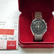 Omega Speedmaster Professional Moonwatch Moonphase pre-owned 42mm Black Moon phase Chronograph Steel