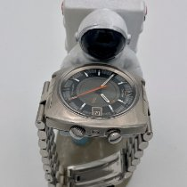 Omega Memomatic Steel 40mm Grey No numerals