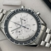 Omega Speedmaster Professional Moonwatch Steel 42mm Silver No numerals