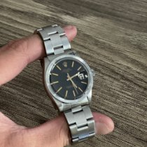 Rolex Oyster Perpetual Date Steel 34mm Black No numerals United States of America, Tennesse, Franklin