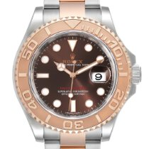 Rolex Yacht-Master 40 Staal 40mm Bruin