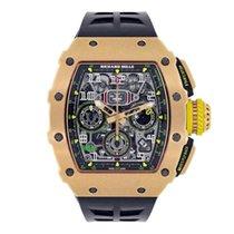 Richard Mille RM 011 Oro rosa 50mm