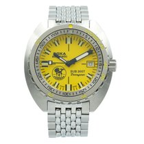 Doxa pre-owned Automatic 43mm Yellow Sapphire crystal 30 ATM