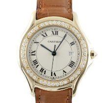 Cartier Cougar Yellow gold 32.5mm Silver