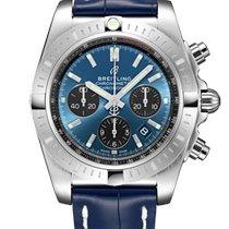 Breitling AB0115101C1P3 Staal 2021 Chronomat 44mm nieuw