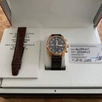 IWC Pilot Spitfire Perpetual Calendar Digital Date-Month Rose gold 46mm Black Arabic numerals