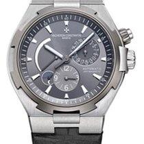 Vacheron Constantin Overseas Dual Time 47450/000W-9511 Very good Steel 42mm Automatic