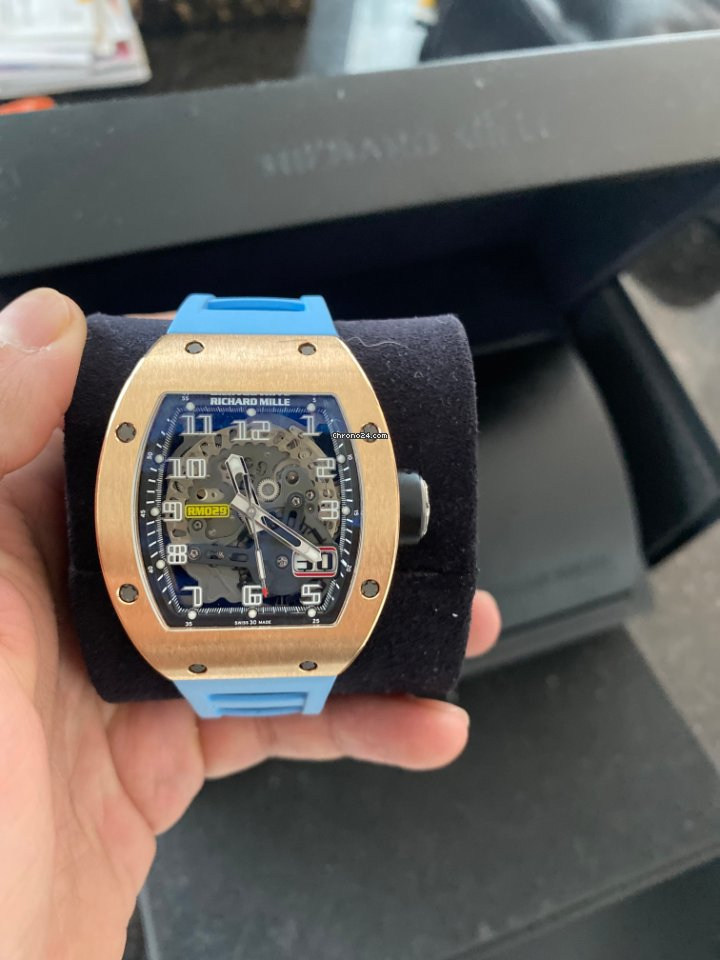 Richard Mille RM 029 RM029 2016 pre-owned