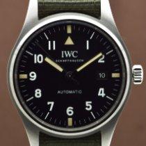 IWC Pilot Mark Steel 40mm Black Arabic numerals United States of America, New York, New York