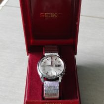 Seiko 5 Sports pre-owned 35mm Silver Date Weekday Steel