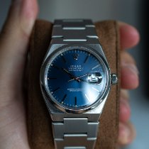 Rolex Datejust Oysterquartz Steel 36mm Blue No numerals United States of America, New York, Brooklyn