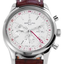 Breitling Transocean Chronograph GMT Acero 43mm