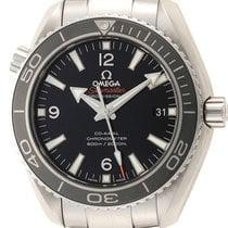 Omega Seamaster Planet Ocean Steel 42mm Black