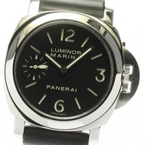 파네라이 스틸 43mm 수동감기 PAM00111 중고시계