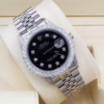 Rolex Datejust Steel 36mm Black No numerals United States of America, New York, New York